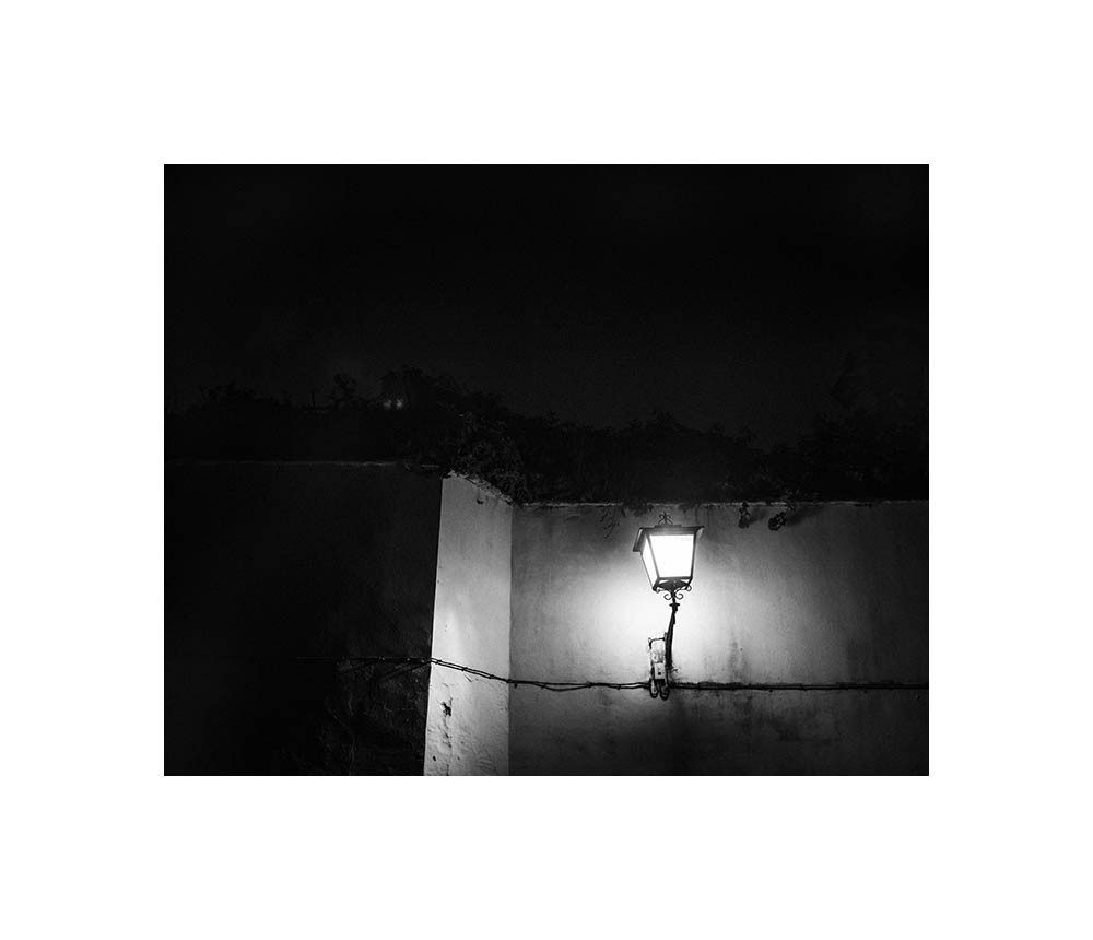 Sevilla, réverbère