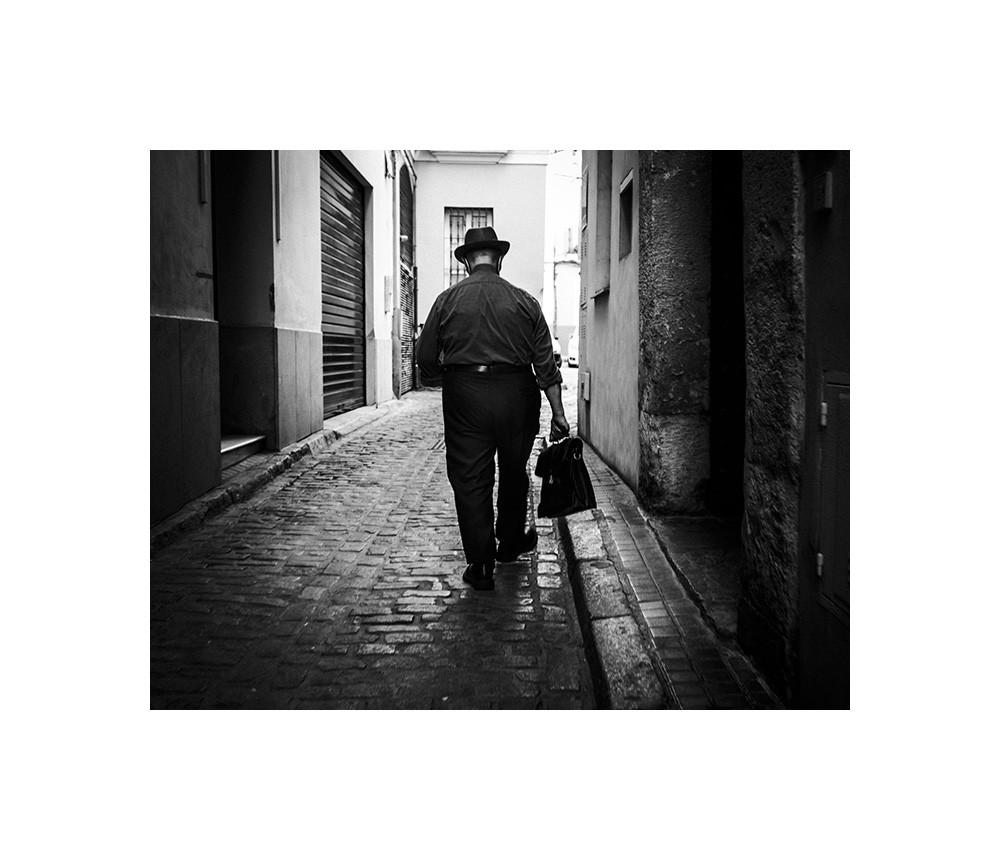 Sevilla, rue, le curé