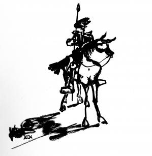 Don Quichotte variation #080620