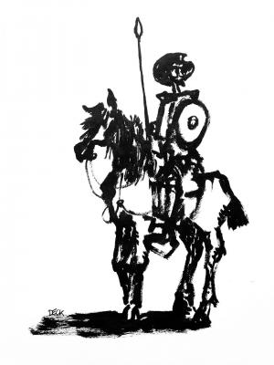 Don Quichotte variation #5